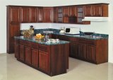 Solid americano Wood Kitchen Cabinet (betulla)