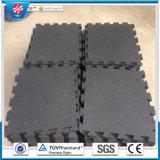 Pavimentazione di gomma riciclata ginnastica non tossica, Indoor Rubber Mattonelle