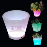 LEDの庭の鍋の白熱植木鉢LEDプランター