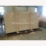 安い価格のベージュ大理石の平板