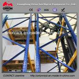 Estante profundo del estante del almacén del doble de la estructura de acero