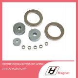 Sechseckiges Neodym N35-N38 permanente NdFeB Ring-Magneten mit Superenergie