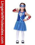 Robe de costume de Cosplay de rêve américain de gosses pour des filles