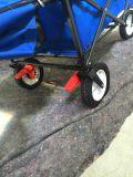 ブレーキ車輪が付いている折りたたみ実用的なワゴン
