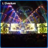 Location visuelle polychrome d'intérieur d'écran de DEL pour des événements, vies, conférences