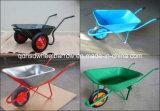 構築の一輪車の庭の一輪車