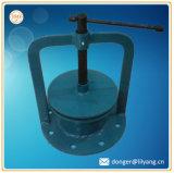 Bâti de fonte grise, bâti malléable de fer, moulage au sable pour des pièces de soupape comme retraits ou échantillons