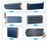 Evaporatore dell'aletta del tubo di rame del mercato del Cile/bobina di alluminio del condensatore