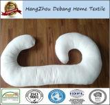Durmiente de maternidad de las mujeres embarazadas del amortiguador de C de la dimensión de una variable de la almohadilla de bambú de gran tamaño de la fibra