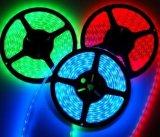 Вьюрок 30LEDs/M DC24V 5m свет прокладки 150 SMD5050 RGB СИД