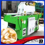 Tipo hidráulico máquina do uso industrial de rapagem de madeira