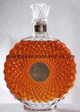 Оптовая пустая круглая супер бутылка Xo рябиновки вискиа бесцветного стекла для вина, ликвора