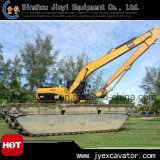 Pontoon를 가진 최상 3 Chains Hydraulic Crawler Excavator