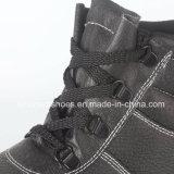 Кожаный ботинки с ботинками безопасности RS1002 подкладки сетки