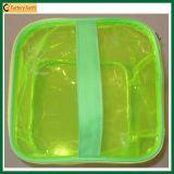 Beweglicher wasserdichter transparenter Belüftung-kosmetischer Toiletten-Beutel (TP-0B016)