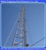 Galvanisierter Telekommunikations-Gitter Guyed Stahl-Aufsatz