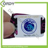 使い捨て可能なMIFAREのUltralight EV1 RFIDによって編まれるリスト・ストラップ
