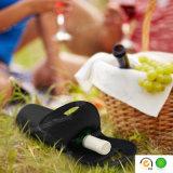 Refrigerador preto de pouco peso por atacado do frasco de vinho vermelho do neopreno