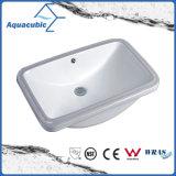 浴室の洗面器のUnderounterの陶磁器の流し(ACB1806)