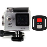 2.4G Controller 170deree Full HD 1080P 30fps 30m Waterproof Mini Action Camera
