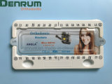 Octrooi MiniRoth Angela Orthodontic Bracket van de Vervaardiging ISO/Ce/FDA van Denrum het Gediplomeerde Nieuwe