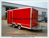 Hot Sale Hamburger Custom Food Mobile Food Cart