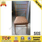 Cadeira Stackable de Chiavari do metal do restaurante do banquete