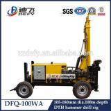 Broca de ar interno portátil pequena do projeto novo do Defy, máquina do equipamento Drilling de martelo de DTH