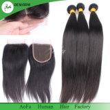 Sehr bessert Qualitäts-gerades Haar rohes brasilianisches Haar aus