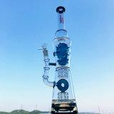 Tubo de agua de cristal del tazón de fuente de rey OEM/ODM de la Hb que fuma