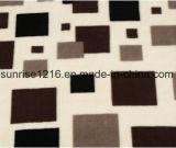 Couverture de corail estampée molle superbe d'ouatine estampée par Sr-B170213-21 de couverture de flanelle
