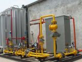Estação da gasificação de GNL