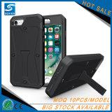 Caja rugosa del teléfono de la espada del tiburón de la armadura del tanque para el iPhone 7/7 más