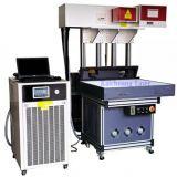 La macchina della marcatura del laser della Cina per incide il cuoio/legno/scheda/pietra