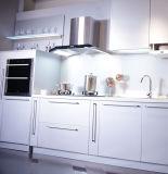 Alti fornitori UV degli armadi da cucina di lucentezza (zx-076)