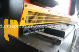 Placa Cizalla hidráulica QC12Y-16 * 2500 cortar placas de acero