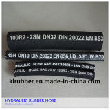 N853 2sn High Pressure Flexible Hydraulic Rubber Hose mit Hydraulic Fitting