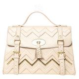 Nuove borse di cuoio dei sacchetti di spalla di modo di alta qualità di disegno (LDO-160969)