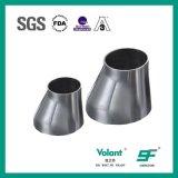 Het hygiënische Reductiemiddel van het Roestvrij staal van de Montage van de Pijp Zonderlinge Gelaste