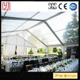 Freies Dach-Hochzeits-Zelt mit der Dekoration, die Innenhochzeits-Zelte zeichnet
