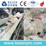 Lavado y reciclaje de la película del PE de los PP
