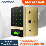 Controle de acesso do Touch-Screen RFID do metal Nt-T12 (cartão +Code)