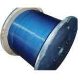 Fio revestido de Rod de ferro do edifício do PVC para materiais de Contruction