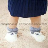 Hete Verkoop voor Antislip Warme Terry Dress Baby Socks