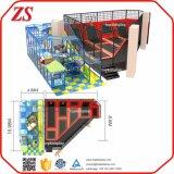 Gimnasia suave comercial de interior de múltiples funciones grande del trampolín del juego (ZS40)