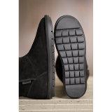 Laarzen van de Schapehuid van de Schoenen van de Winter van het Kalf van de mode de MEDIO voor Vrouwen