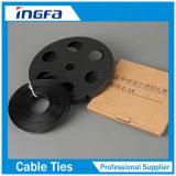 201 304 нержавеющая сталь 316 PVC Coated связывая полосу с пряжками