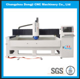 Máquina de moedura de vidro 3-Axis horizontal da borda do CNC para a mobília de vidro