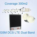 Répéteur de signal de téléphone mobile 3G des réseaux 2g de répéteur de WiFi de la vente chaude 900/1800MHz GM/M/amplificateur de servocommande à deux bandes extérieurs