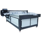 LED Flatbed ULTRAVIOLETA Printer los 2.5m*1.3m Flatbed Dx5 Head para Wood Printing